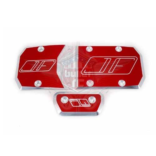 Jofer-RC Skid Plate für DBXL-E - rot