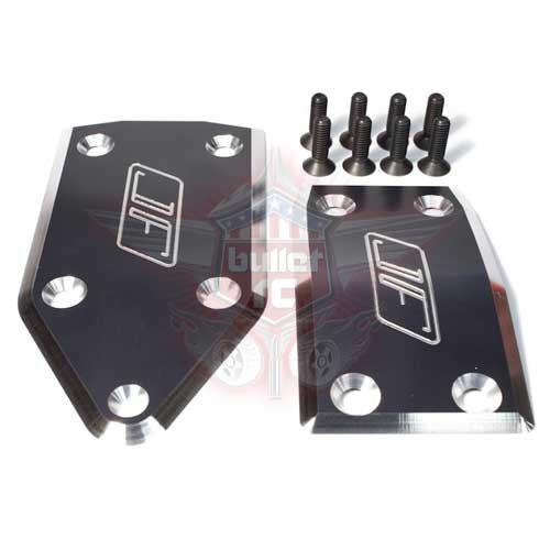 Jofer RC Aluminum Skid Plate Set für Losi 5ive rot