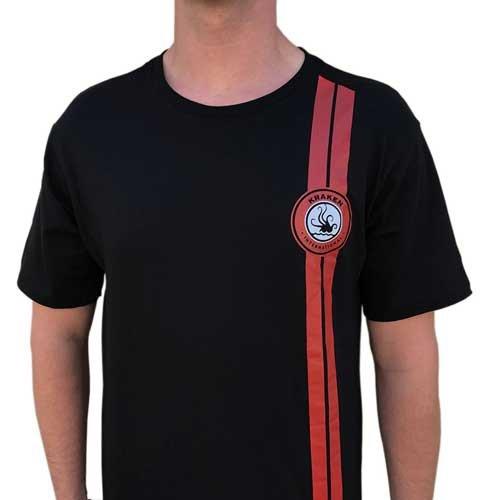 Offizielles Team Kraken T- Shirt Schwarz - Large