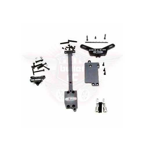 M2c TEKNO MT410 V2 EXTENDED CHASSIS REAR CHASSIS KIT
