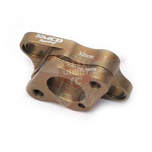 MCD Vergaser Flansch Aluminium für G320 Motor