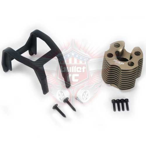 MCD Alu Kühlkopf Set für Zenoah Motor M730101A