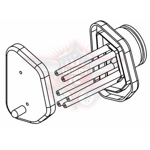 MCD RR5 Luftfilter Plastik Gehäuse & Deckel M725101P