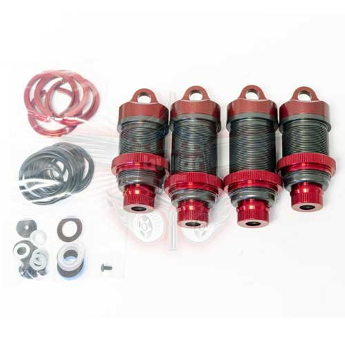 MIP 32mm BB BYPASS SHOCK KIT Red Edition Losi 5T/5B