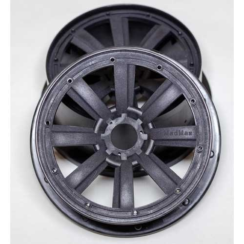 MadMax 8-Spoke Wheel Set HPI Baja 5, 5ive/DBXL, Vekta