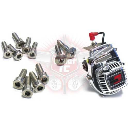 RC rostfreier Stahl hardware/Schrauben Set