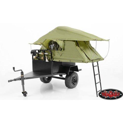 RC4WD Bivouac 1/10 M.O.A.B Camping Trailer w/Tent