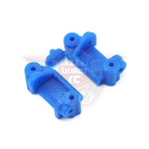 RPM Caster Blocks blau vorne für Rustler/Stampede