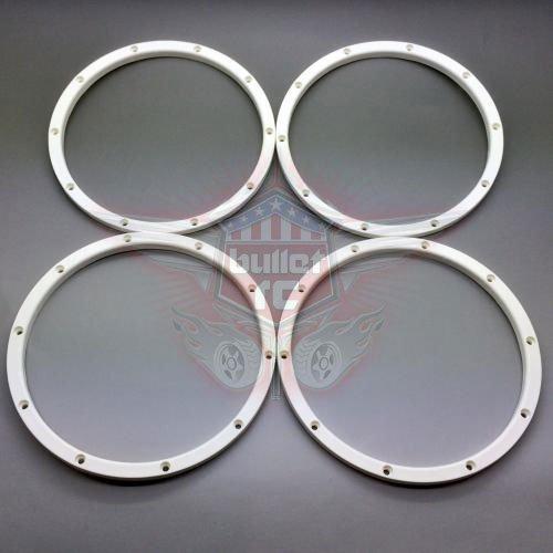 Silverback Heavy Duty Innere Beadlocks flach - weiß