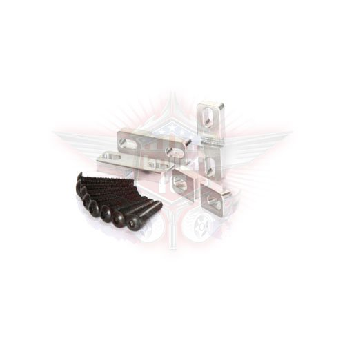 FullForce RC Losi 5IVE-T Aluminum Servo Klammern (4)