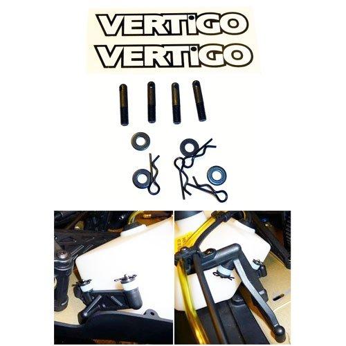 Vertigo Quick Release Benzintank Stifte Losi 5ive/Vekta