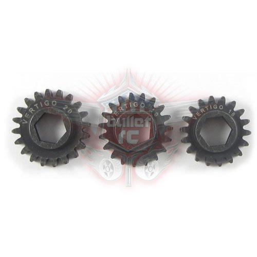 Vertigo Stahl Motor Ritzel- 19T für Losi 5ive-T