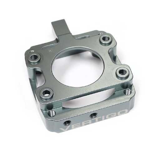Vertigo belüftetes G320 Kupplungs Flanschgehäuse Silber