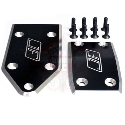 Jofer RC Aluminum Skid Plate Set für Losi 5ive schwarz