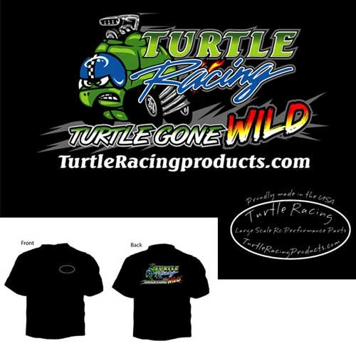 "Turtle Racing ""Turtle Gone Wild"" T-Shirt XXX Large"