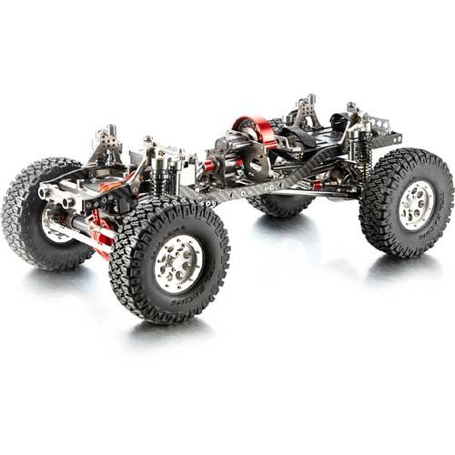 T-10 Pro Crawler Chassis Mittelmotor Radstand 313mm