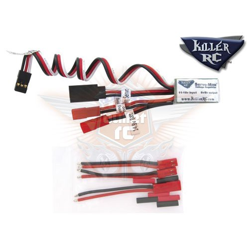 Killer RC Max Volt Regulator für Losi Servo System