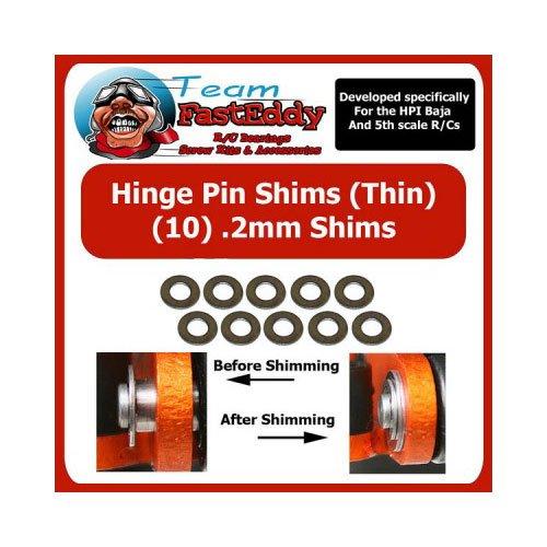 Team FastEddy Hinge Pin Scheiben Set 0.2mm