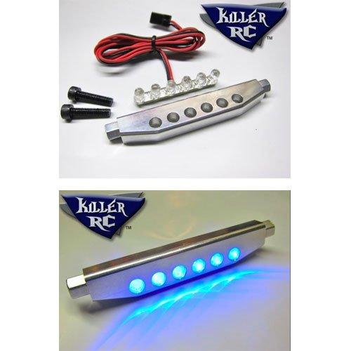 Killer RC 6-LED Aluminum Licht Leiste - rot