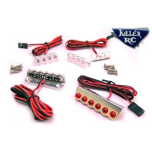 Killer RC 6-LED Universal Licht Leiste - Rot