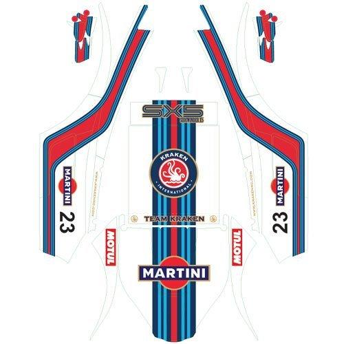 """Martini"" Vinyl Wrap für Kraken SX5 Sand Rail Kit"