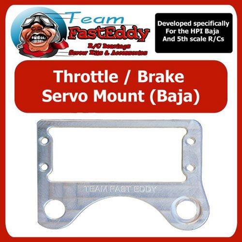 Team FastEddy Gas/Bremse Servo Strebe HPI Baja 5B/5T/5SC