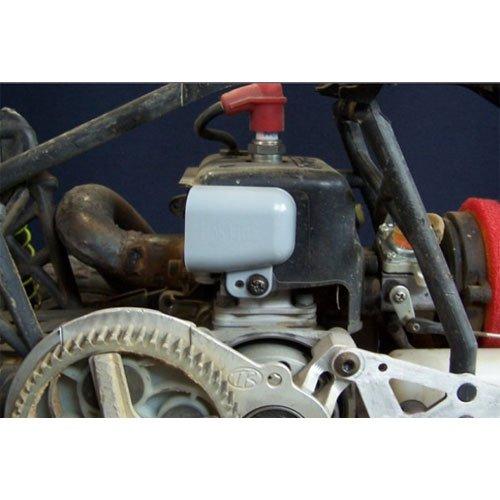 Hostile Hitze Ableitung/Scoop für R/C Motoren grau
