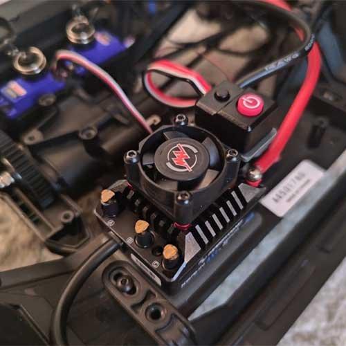Bullet RC TRX4 Hobbywing Foc Regler Halterung
