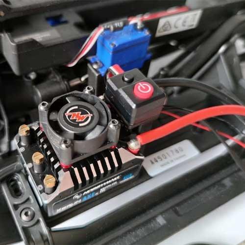 Bullet RC TRX4 Hobbywing Foc Regler mit Servo Halter
