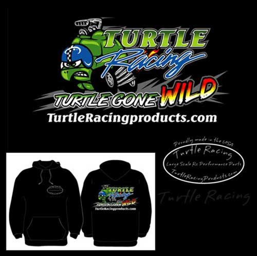 "Turtle Racing ""Turtle Gone Wild"" Hoodie Large"
