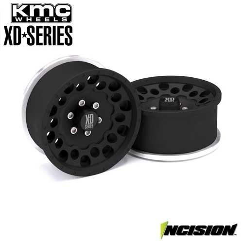Incision KMC 1.9 XD129 Holeshot Black Anodized