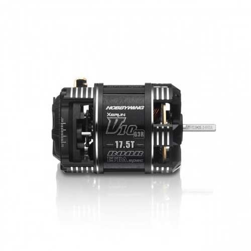 Hobbywing Xerun V10 Brushless Motor G3R (2-3s) 17.5T Sensored