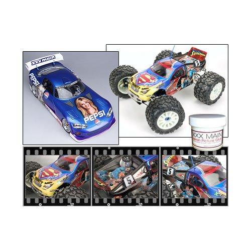 Lexan Bilder Kleber für RC Karosserien