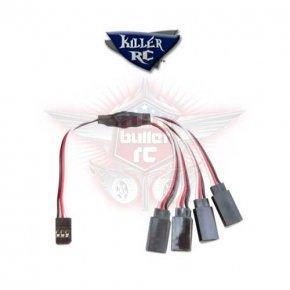 Killer RC 4-Wege Splitter Kabel