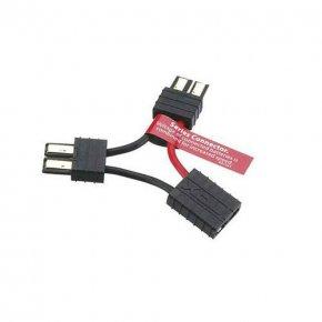 Traxxas Y-Kabel Anschluss Seriell für 2 Akkupacks 1/16 Modelle