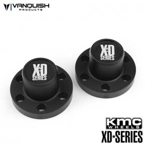 Vanquish Center Hubs XD Series Black Anodized