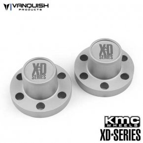 Vanquish Center Hubs XD Series Clear Anodized