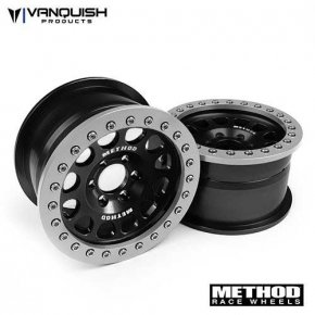 "Vanquish Method 2.2 Race Wheel (1.2"" Wide) 105 Black/Clear Anodized"