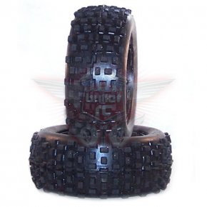 Hostile vordere Mini MX V2 Reifen für HPI Baja 5b Hart