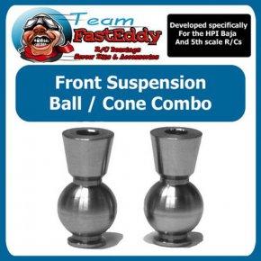 Team FastEddy vordere Hub Ball/Cone Combo für HPI Baja 5b/5T/5SC